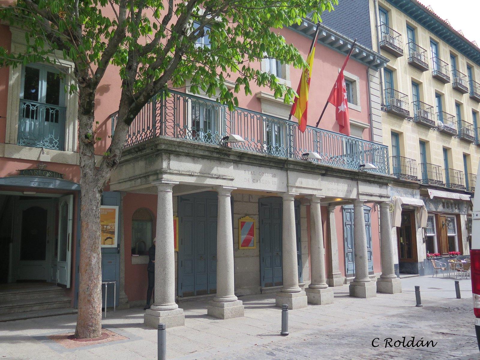 Teatro Real de Carlos III.