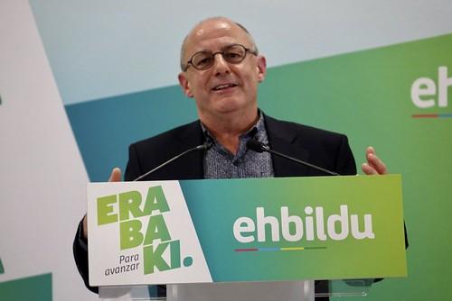 Acto político de EH Bildu Irun. Juan Karlos Izagirre