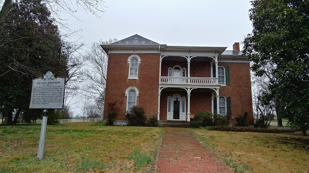 James Debow House Hartsville Tennessee Construction