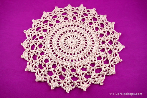 Crochet Cathedral Doily | by elsa.blueraindrops
