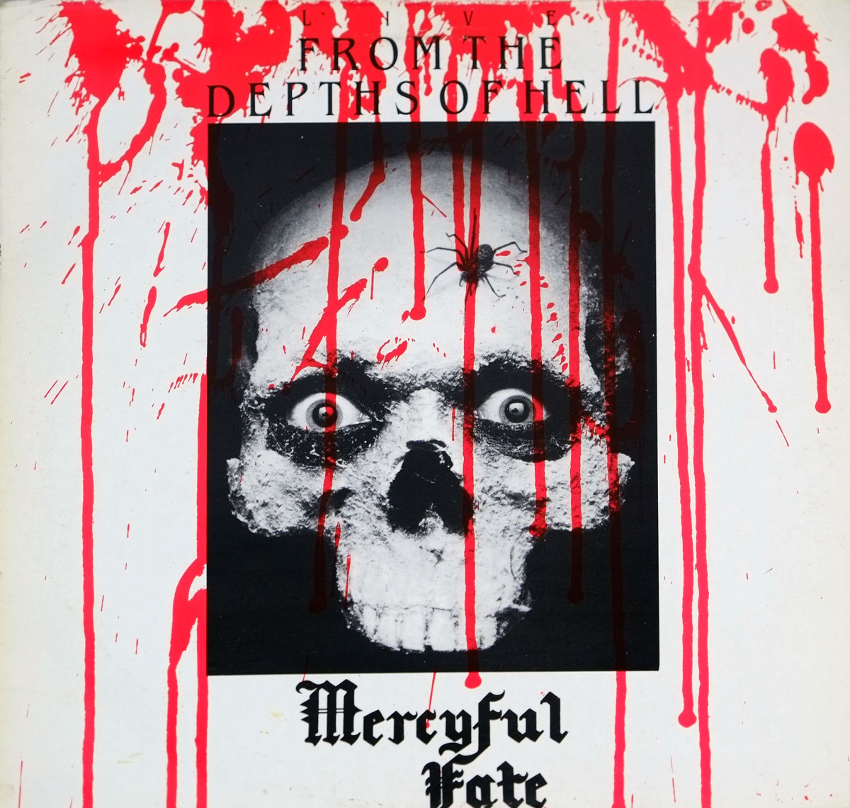 "MERCYFUL FATE LIVE FROM THE DEPTH OF HELL 12"" LP VINYL"