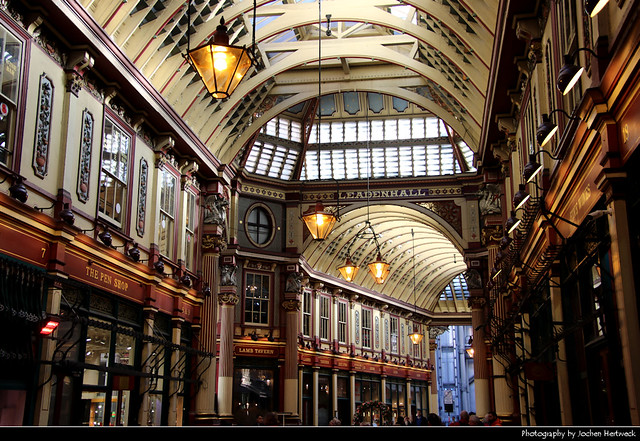 Leadenhall Market, London, UK