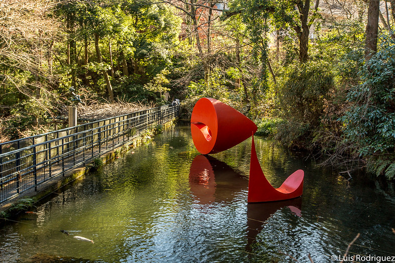 """Escultura flotante 3"" de Marta Pan"