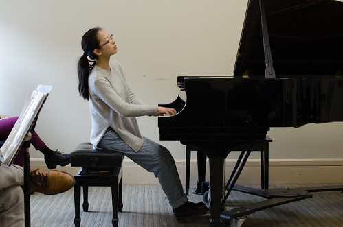 16-year-old pianist Taylor Wang | by From the Top, Inc.