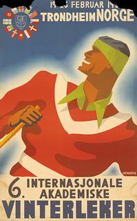 """""""Den kjekke gutt"""" - 6. Internasjonale Akademiske Vinterleker (1939)"""