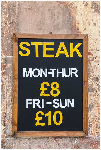 Steak, Glasgow