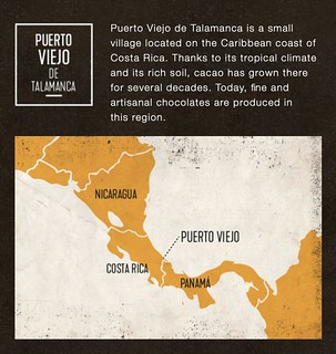 map of puerto viejo from Cho.Co.cr | by WineAndCheeseFriday