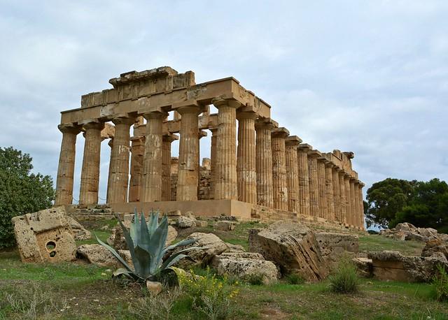Selinunte  - Tempio E