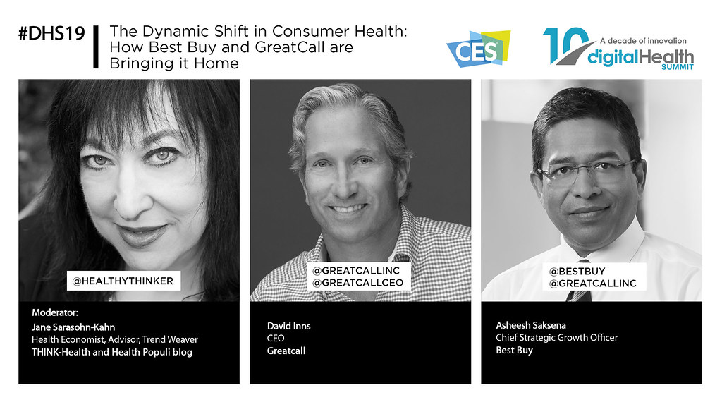 28 - 1130 AM The Dynamic Shift in Consumer Health  How Best Buy and GreatCall are Bringing it Home