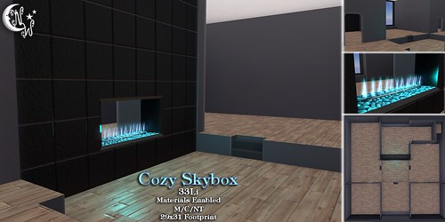 *NW* Cozy Skybox Black   by NeverWish