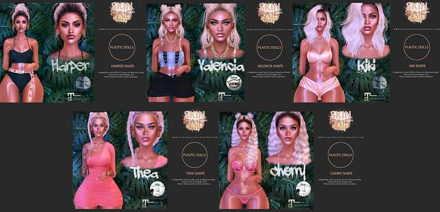 Plastic Dolls Exclusive @ SkinFair 2019