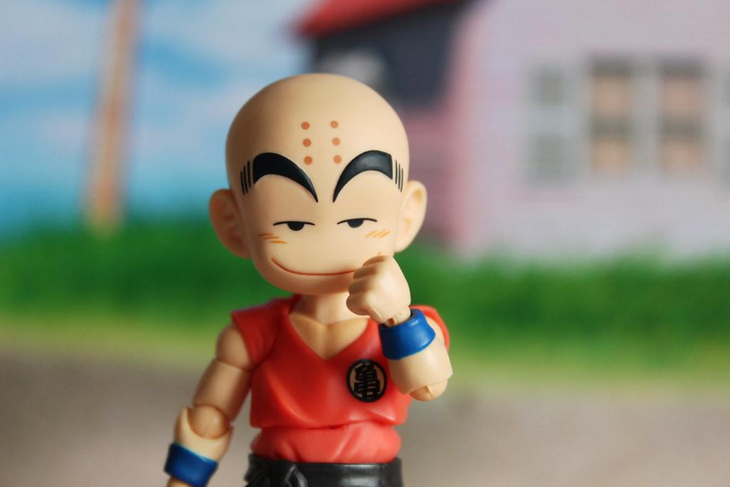 Dragon Ball Classic Kid Krillin Fun With Classic Dragon Ba