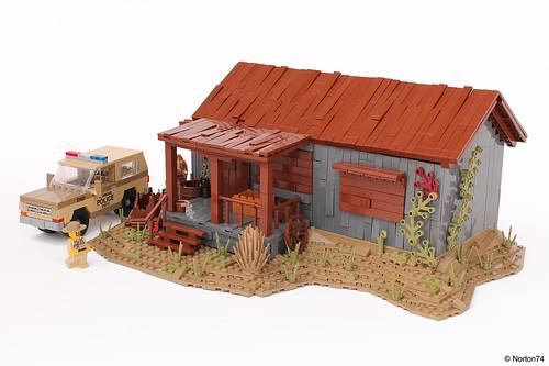 Stranger Things | Sheriff Hopper's Cabin + Chevrolet Blazer | by Andrea Lattanzio