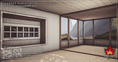 Trompe Loeil - Leander Beach Cottages & Chairs for Collabor88 April
