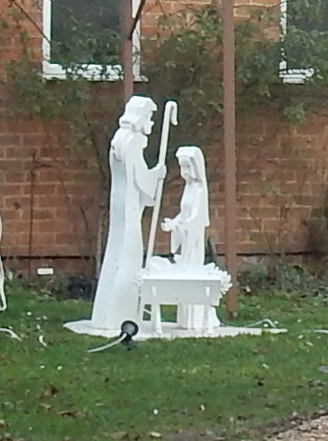 Nativity, rectory garden Shiplake to Henley