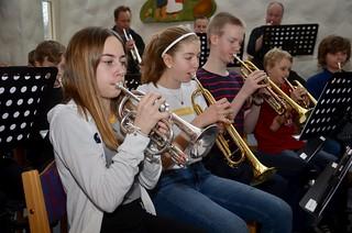 Kornetter i Framåt Brassband 2