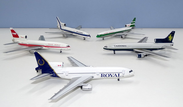 Pre-2019 Lockheed Tristar Moulds in 1:400 Scale