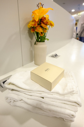 Towels and shower amenities | by A. Wee