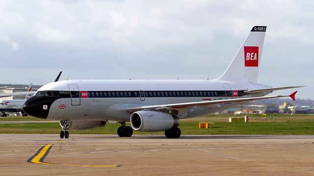 British Airways Airbus A319-131 G-EUPJ