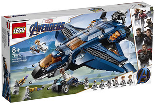 Avengers Ultimate Quinjet (76126) | by Brickfinder