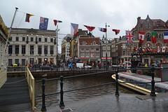 Rainy Streets of Amsterdam