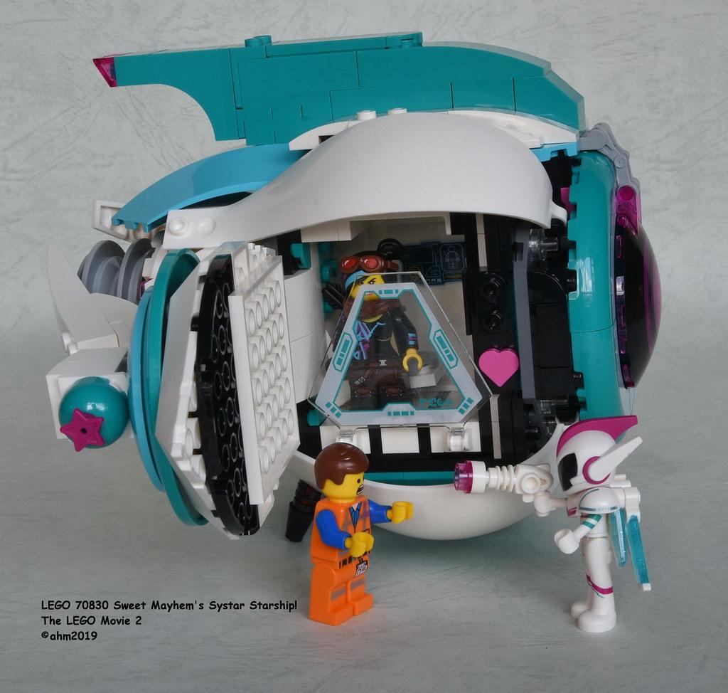 Lego 70830 Sweet Mayhem S Systar Starship Lego 70830 Swee Flickr