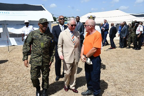 The Prince of Wales tours field medical facility (6) | by barbadosgovernmentinformationservice