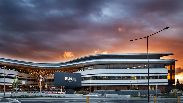 Sunset over Bunjil