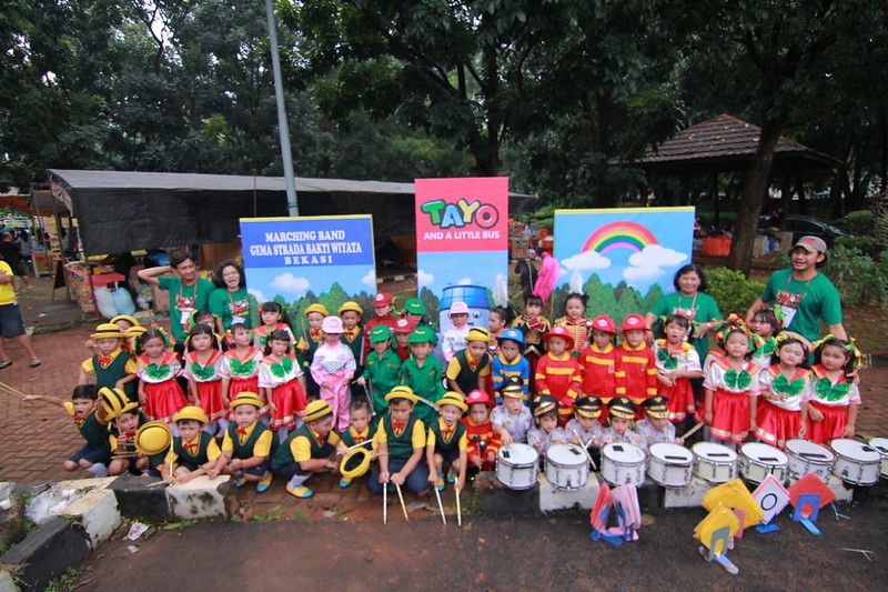 Prestasi TK Strada Bhakti Wiyata Dalam Lomba Drumband Nasional