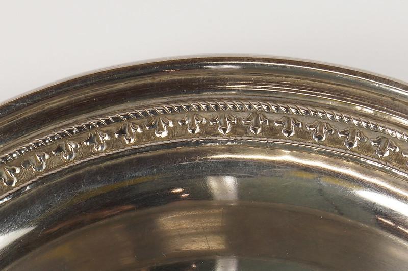 RD27847 Vintage Sterling Silver Bowl Dish 536 RD Richard Dimes 74 Grams DSC00254