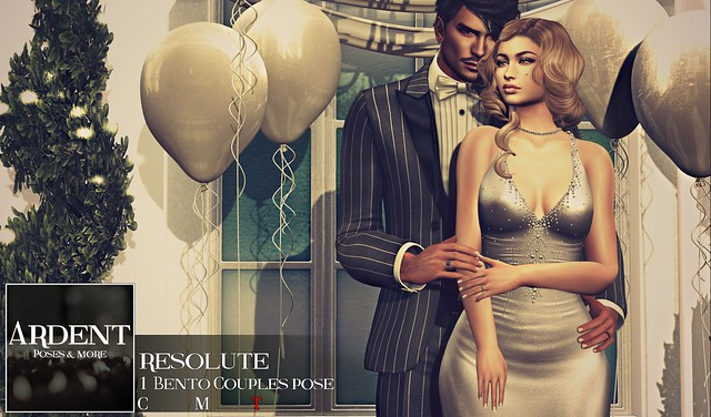 Ardent Poses - Resolute Ad
