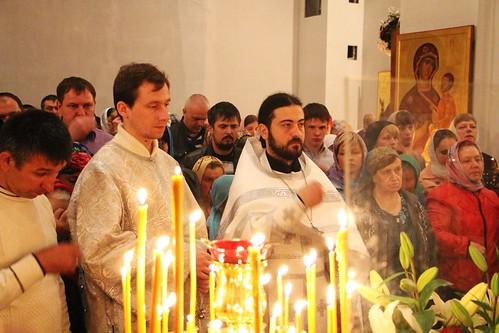 Пасхальное Богослужение в Свято-Никольском храме станицы Кавказской IMG_1205
