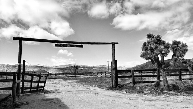 Corral at Pioneertown, CA
