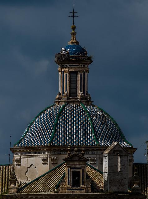 Cúpula de la Parroquia Mayor de Santa Cruz de Écija - Sevilla - España.