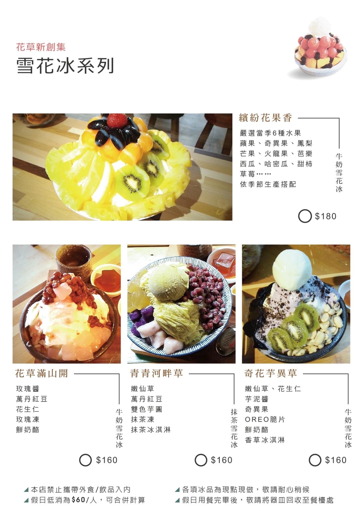 新南五五製冰所 菜單 台中大里冰店09