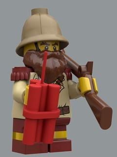 Dwarf Brigadier | by Bolicob