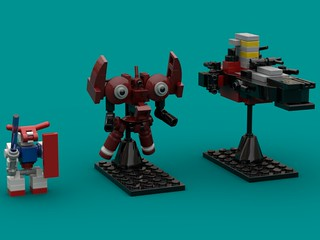 Neo Zeong size comparsions   by The Hydromancer