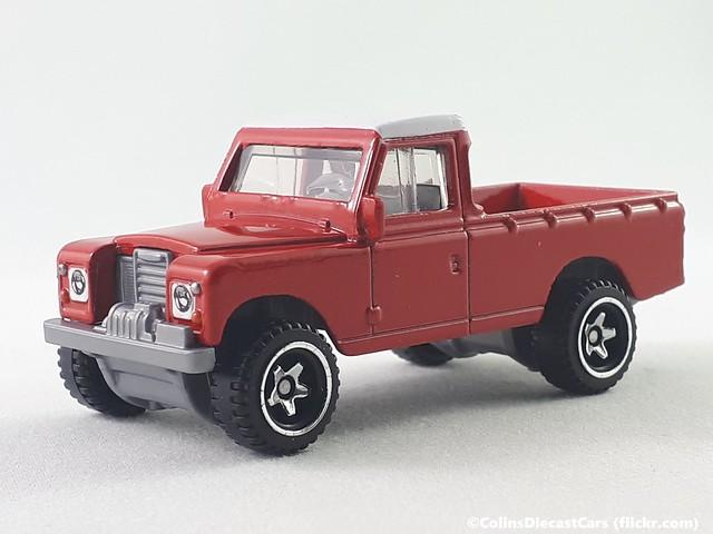 Hot Wheels - Land Rover Series III Pickup
