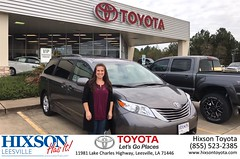 #HappyBirthday to Breanna from Kevin Marie Grossinger at Hixson Toyota of Leesville!