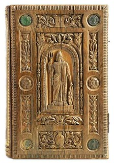 Book Bound in Wood From Roman Times