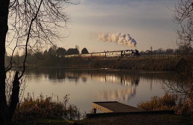 80080 At Butterley Reservoir. 24/02/2019.