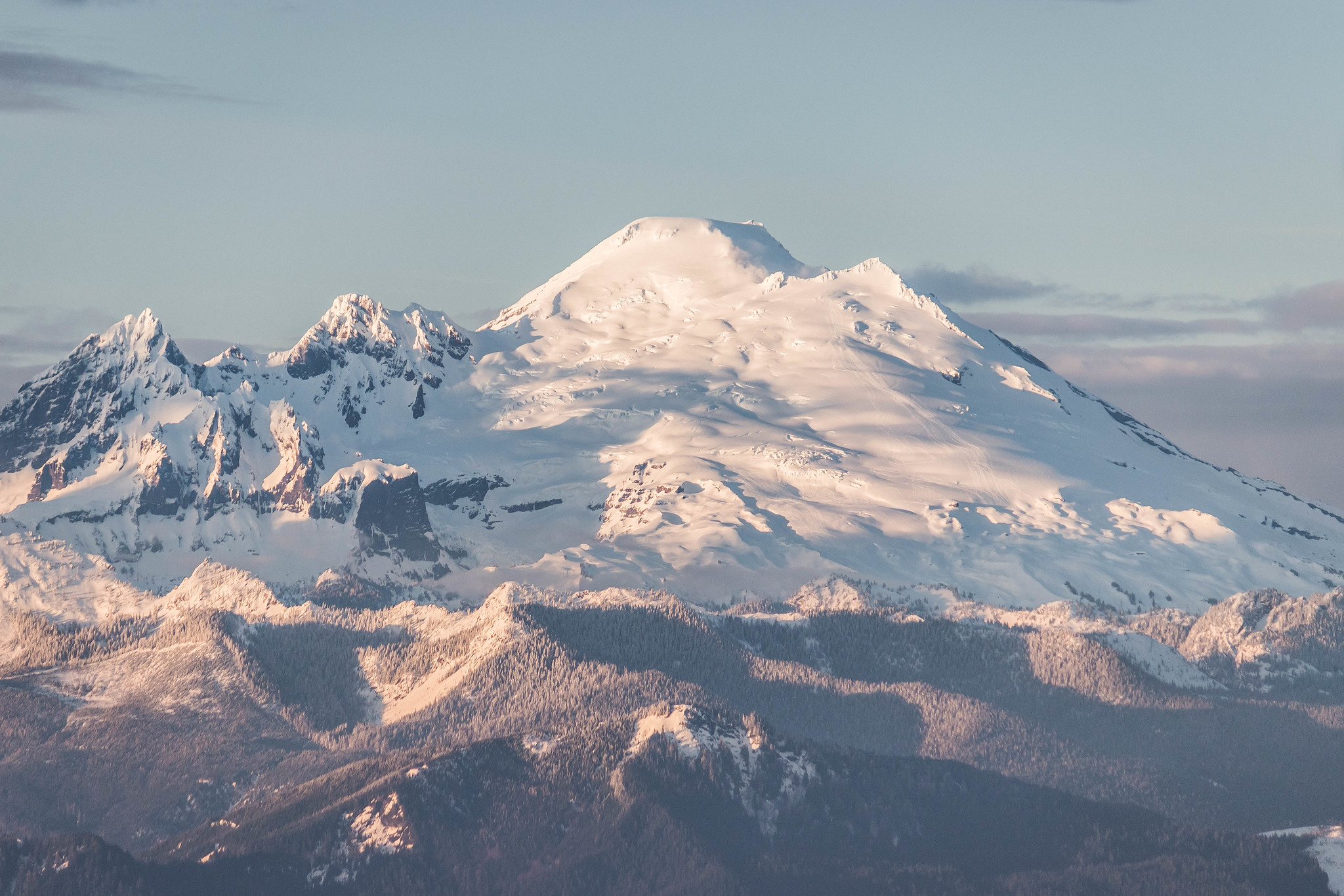 Mount Baker and friends