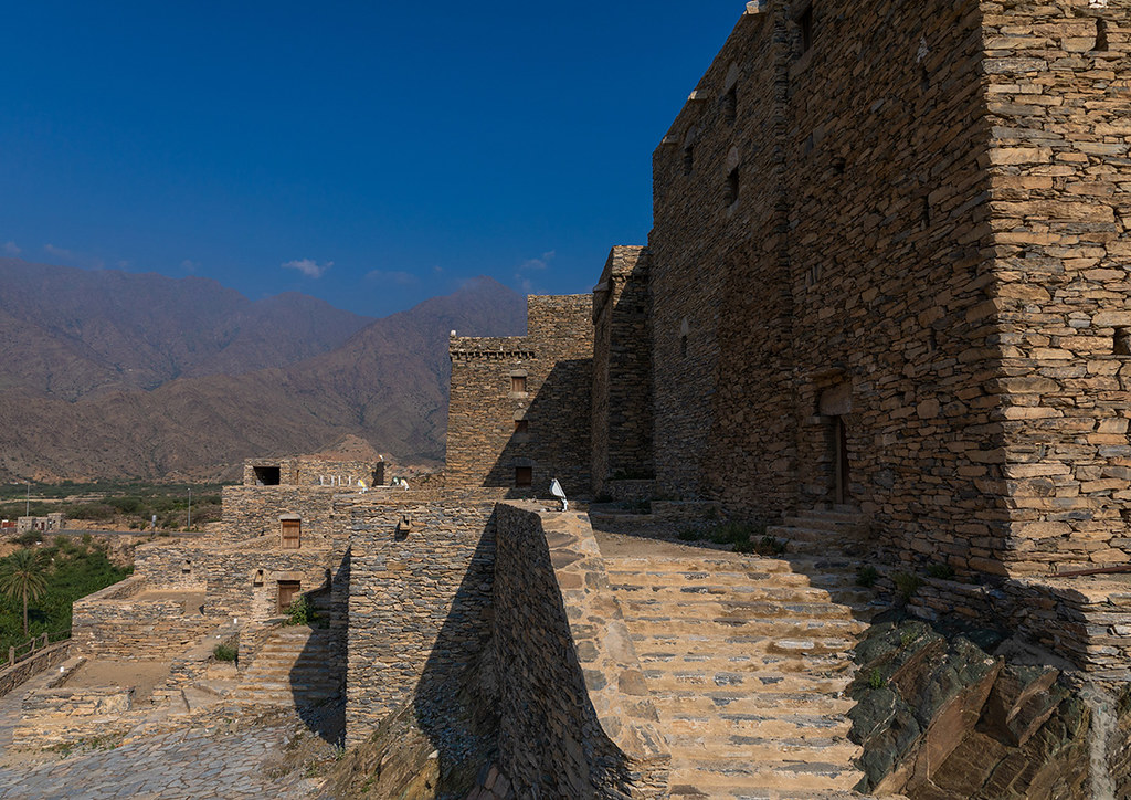 Stone house in Dhee Ayn marble village, Al-Bahah region, A… | Flickr