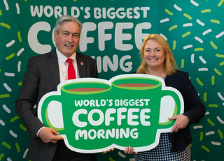 Supporting World's Biggest Coffee Morning | by Iain Gray MSP