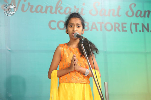 Baby Vaidiki Ghadge from Coimbatore, expresses her views