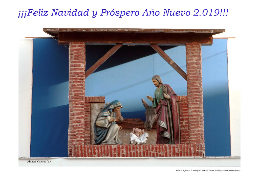 ¡Feliz Navidad y Próspero Año Nuevo 2.019!