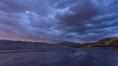Great Sand Dunes Sunset Blues