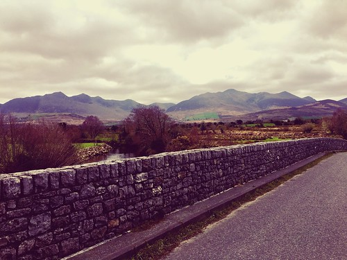 The Macgillycuddy's Reeks as seen from the Gaddagh Bridge... #kerry #macgillycuddysreeks #gaddaghbridge #photography #brianahern #photosofireland #Ireland | by Brian Ahern
