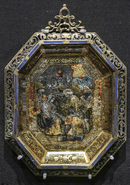 Plaque with the Adoration of the Magi, Italy, about 1600-20