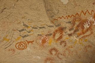 Guanacos ancestrales